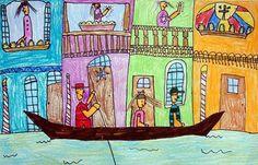 """From exhibit """"Venetian Gondolas""""  by Jessica8671"""
