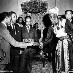 His Imperial Majesty Haile Selassie I in Jamaica