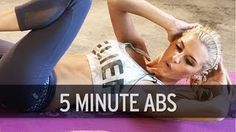 5 minute core exercise for you to do!