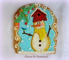royal icing cookies/kurabiye/winter cookies
