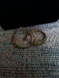 Vintage Liz Claiborne hoop earrings for by ButterflyNdreams