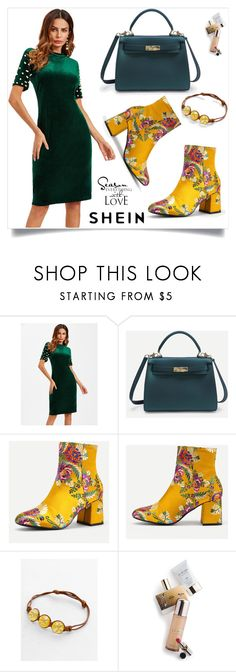 """""""Shein 7/V"""" by mirelaaljic ❤ liked on Polyvore featuring WALL and Memo Paris"""