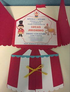 Circus Carnival Party, Circus Birthday, Circus Theme, 2nd Birthday, Circus Invitations, Earth 3d, Admission Ticket, Baby Party, Kids Cards