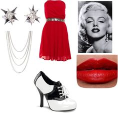 """""""50's"""" by abtothey on Polyvore"""