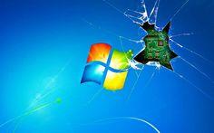 Windows Wallpaper Broken Screen 1920x1200 Backgrounds