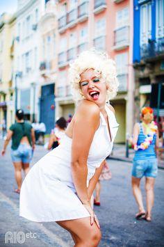 Nossas inspirações de fantasia pro carnaval carioca: Marilyn Monroe.