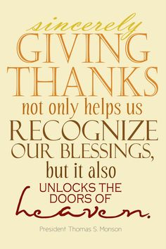 Give thanks {free printable}