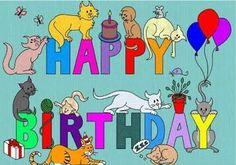 HAPPY BIRTHDAY CATS!