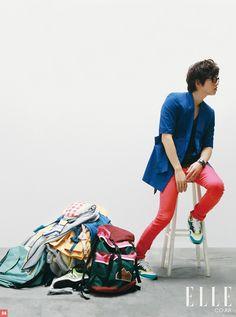 Song Joong Ki - Elle Girl Magazine August Issue '10