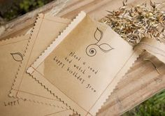 sewn seed packets DIY - Reformation Acres: ~Gleanings from September~