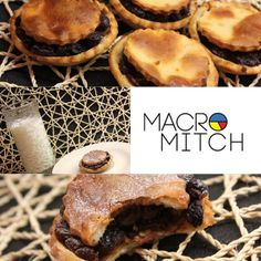Fat Free Mince Pies: These contain no gluten, egg, fat or added sugar and are just 102kcals each! They are made using Chobani too!  | Macro Mitch |