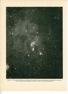 1959 orion original vintage astronomy galaxy by antiqueprintstore, $25.50