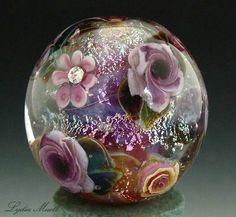 Lydia Muell's lampwork bead ♡