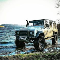 """3,504 Likes, 17 Comments - @landroverphotoalbum on Instagram: """"Pretty impressive machinery. By @dziura602 #landrover #defender110csw #landroverdefender…"""""""