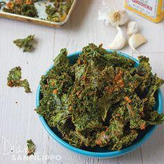 Easy Recipe: Baked Kale Chips - Diane Sanfilippo