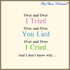 love hurts quotes | File Name : Love-hurts-quotes-Over-and-Over-tried.jpg Resolution : 600 ...