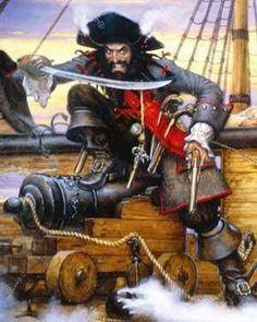 .pirate captain blackbeard