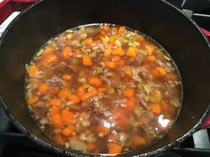Easy homemade Beef Vegetable Soup Recipe by Old Cut Kitchen using local ingredients from Norfolk County, Ontario's Garden Vegetable Soup Ingredients, Vegan Vegetable Soup, Basic Soup Recipe, Beef Soup Bones, Beef Soup Recipes, Homemade Soup, Soups And Stews, Stuffed Peppers, Vegetables