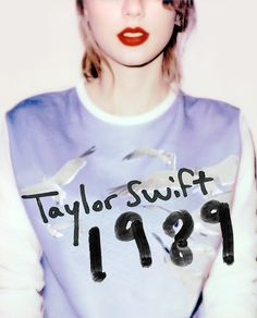 """""""I was listening to a lot of late 80's pop, because I really loved the chances they were taking I loved how bold they were. So being inspired by that I started delving into the late 80's - and what I found was that it was apparently a time of limitless potential."""" - Taylor Swift"""