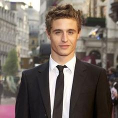 Max Irons. Perfect genes, perfect cheekbones, great hair and an even better accent. It's really not even fair.