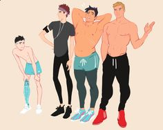 Male shirtless mythical reference