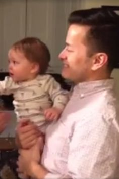 This Video of a Baby Meeting His Dad's Twin Brother Has 2 Million Views For Good Reason