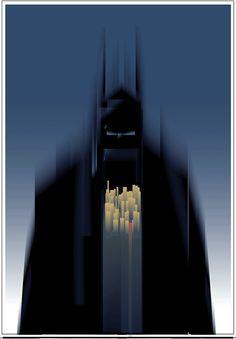 Batman Vector Art by Orlando Arocena — GeekTyrant