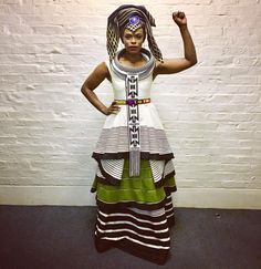 We have the latest modern Xhosa dresses online on Sunika. Discover Top Xhosa dresses designers in South Africa for your next outstanding Xhosa Wedding dress. Sesotho Traditional Dresses, South African Traditional Dresses, Traditional Fashion, Traditional Wedding, South African Dresses, African Attire, African Wear, African Women, African Print Skirt