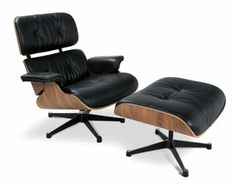 Classic lounge chair. Charles Eames