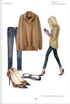 Outfit para un viernes...