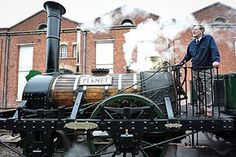 Robert Stephenson and Company built the original Planet steam locomotives, which were the first standard design to run on the Liverpool and Manchester railway – the world's first passenger railway, opened in 1830.