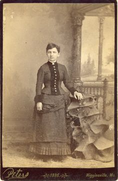 1880's picture postcard. Hagins collection.