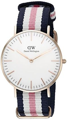 Daniel Wellington Women's 0506DW Classic Southhampton Stainless Steel Watch With Multi-Color Striped Band Daniel Wellington http://www.amazon.com/dp/B00BKQT6I0/ref=cm_sw_r_pi_dp_n4A0wb0RVC1CQ