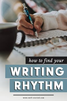 How to Find Your Writing Rhythm Using The Snowball Effect writing tips