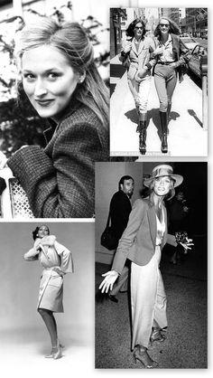 Young Meryl Streep, Jerry Hall, Pat Cleveland, Lauren Hutton