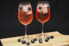 How to make the Sloe Gin Spritz, a balance of sweet and tart flavours in a refreshing summer drink.