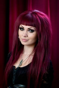 """Magenta Hair Color The beauty of hair is defined by few factors: Density, strength, shine,Read More """"Magenta Hair Colour Ideas And Hairstyles"""" Magenta Hair Colors, Purple Hair, Red Hair, Hair Colour, Eye Color, Color Red, Violett Hair, Alternative Hair, Love Hair"""