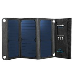 Solar Panel Phone Charger, BlitzWolf 15W 2A Foldable Dual USB Port SunPower Battery Charger for All Cellphone iPhone 6 6s Plus, Samsung Galaxy S5 S6 Note 4 5, Sony Xperia  http://topcellulardeals.com/product/solar-panel-phone-charger-blitzwolf-15w-2a-foldable-dual-usb-port-sunpower-battery-charger-for-all-cellphone-iphone-6-6s-plus-samsung-galaxy-s5-s6-note-4-5-sony-xperia/?attribute_pa_color=20w-3a  [Highest Ever Sunpower Conversion] Compare to 15% or less conversion rate of