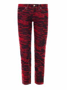 Irwin corduroy mid-rise slim-leg jeans | Isabel Marant Étoile ...