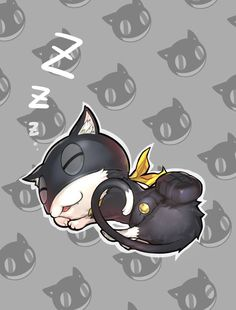 A sleeping Morgana