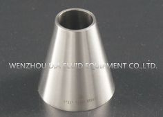 China T304 3A Concentric Reducer Short Weld End Food Grade Stainless Steel Pipe Fittings supplier