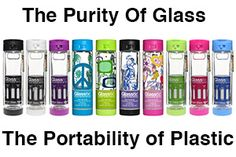 10 reasons why a Glasstic shatterproof glass water bottle should be part of your hydration routine.