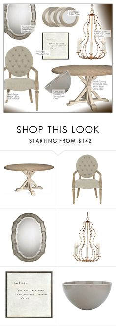 """""""Dining Room Decor"""" by kathykuohome ❤ liked on Polyvore featuring interior, interiors, interior design, home, home decor, interior decorating, dining room, diningroom, Home and dining"""