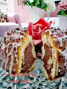 Sweet Recipes, Cake Recipes, Cooking Cake, Cheesesteak, Tiramisu, French Toast, Recipies, Food And Drink, Sweets