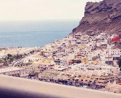 puerto de mogan. gran canaria. from emma's vintage blog.