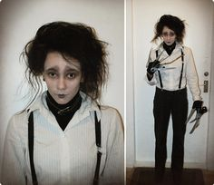Edward Scissorhands Costume -- Maybe next year's Screaming Pumpkin?