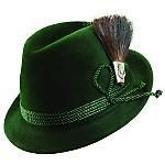 Tyrolean Hat From Biltmore, this fur felt dress hat is called The Golden Pheasant.