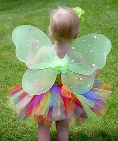 Look at this Dress Up Dreams Boutique Green & Orange Super Fluffy Tutu Set - Infant & Girls on #zulily today!