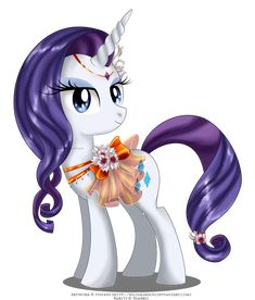 May Festival Pony - Rarity by selinmarsou.deviantart.com on @deviantART