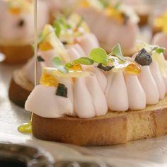 Salmon Recipes, Fish Recipes, Seafood Recipes, Gourmet Recipes, Appetizer Recipes, Cooking Recipes, Appetizers, Fish Dishes, Seafood Dishes